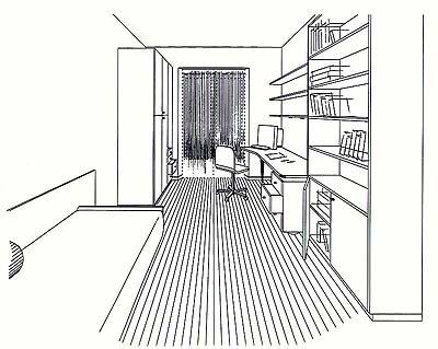 Piani degli appartamenti for Piani e disegni di casa con 2 camere da letto